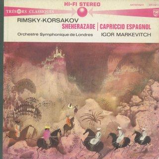リムスキー・コルサコフ:シェエラザードOp.35,スペイン奇想曲Op.34