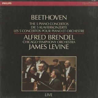 ベートーヴェン:ピアノ協奏曲(全5曲)