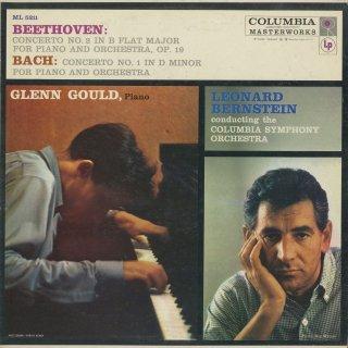 ピアノ協奏曲集/バッハ:1番BWV.1052,ベートーヴェン:2番Op.19