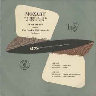 モーツァルト:交響曲40番K.550