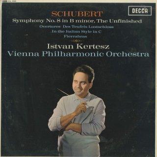 シューベルト:交響曲8番「未完成」,序曲/悪魔の別荘,イタリア風,フィエラブラス