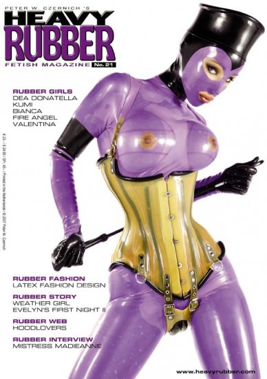 Heavy Rubber Magazine No.21