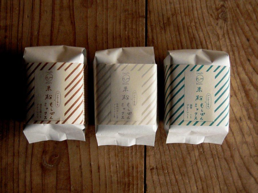 米粉の蒸しパンミックス / ハト畑