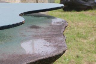六方石 テーブル900×1800×H700