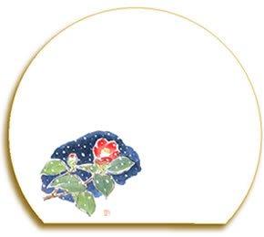 半月マット 藪椿(ヤブツバキ)