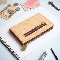 ・L字ファスナー ミドル財布