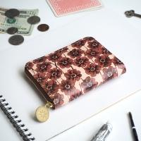 ・ラウンドファスナー コンパクト財布