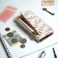 ・ファスナーポケット付 iPhoneケース