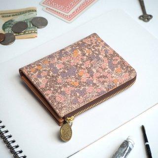 Lウォレット  L字ファスナー財布(ロマンティック インパチェンス)