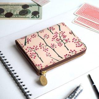 Lウォレット  L字ファスナー財布(アカイミ)