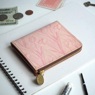 Lウォレット  L字ファスナー財布(フェミニン チューリップ)