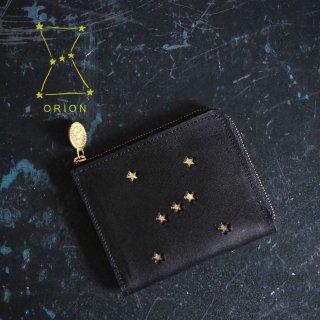 Lウォレット L字ファスナー財布(ORION ブラック)