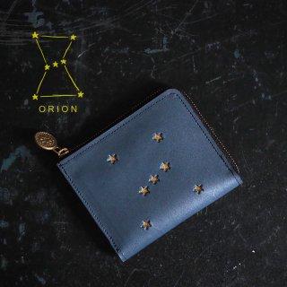 Lウォレット L字ファスナー財布(ORION ナイトブルー)