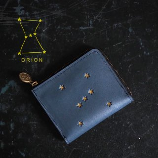 L字ファスナー財布(ORION ナイトブルー)