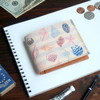 二つ折り財布(メリー シェル)