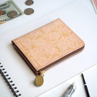 Lウォレット  L字ファスナー財布(ピースフル デイジー)