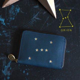 ラウンドファスナー コンパクト財布(ORION ナイトブルー)