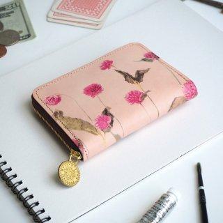ラウンドファスナー コンパクト財布(ノスタルジック ゴンフレナ)