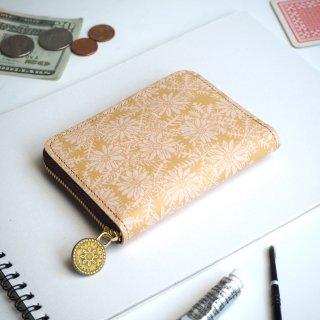 ラウンドファスナー コンパクト財布(ピースフル デイジー)