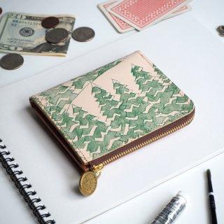 L字ファスナー財布 (モミノキ)