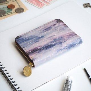 ラウンドファスナー コンパクト財布(スターリー ナイト)