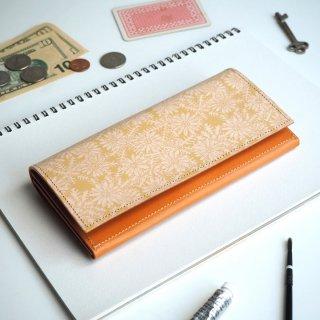 フラップ長財布(ピースフル デイジー)
