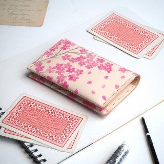 カードケース(サクラ)/名刺入れ 桜