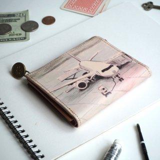 L字ファスナー財布(デパーチャーエアポート)