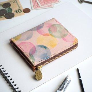 L字ファスナー財布(シャボン玉)