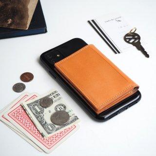 忘れ物をしなくなる iPhoneカバー(ビスケットベージュ)牛革 TPUソフトカバー