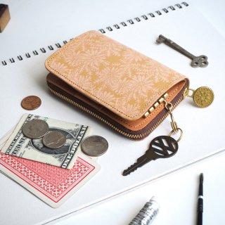 キーウォレット [ ミニ 財布 + キーケース ](ピースフル デイジー)