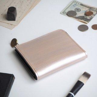 L字ファスナー財布(ペイント シルバー)