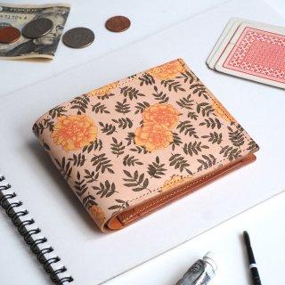 二つ折り財布(ヴィンテージ マリーゴールド)