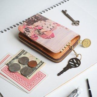 キーウォレット [ ミニ 財布 + キーケース ](ファニーキャッスル)