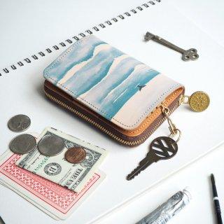 キーウォレット [ ミニ 財布 + キーケース ](ウェーブ)