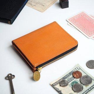 L字ファスナー財布(ビスケット ベージュ)