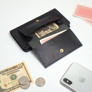 【SALE】フラップポケット付 アイフォンケース(ブラック)XR用のみ