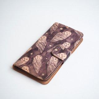 【SALE】iPhone6Plus/6sPlus アイフォンケース 手帳型(ホーリーアウル)