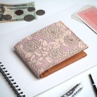 二つ折り財布(グレイッシュ ジニア)