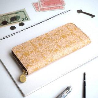 ラウンドファスナー長財布(ピースフル デイジー)