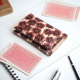 カードケース(チョコレートコスモス)