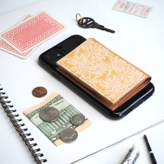 忘れ物をしなくなる iPhoneカバー(デイジー)牛革 TPUソフト