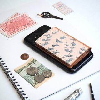 忘れ物をしなくなる iPhoneカバー(ユーカリ)牛革 TPUソフト