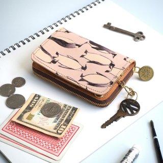 キーウォレット [ ミニ 財布 + キーケース ](ペンギン)