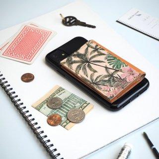 忘れ物をしなくなる iPhoneカバー(トロピカル パーム)