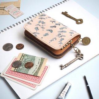 キーウォレット [ ミニ 財布 + キーケース ](ユーカリ)