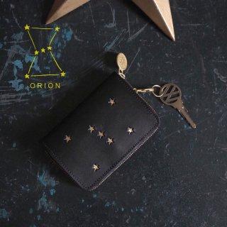 キーウォレット [ ミニ財布 + キーケース ](ORION ブラック)