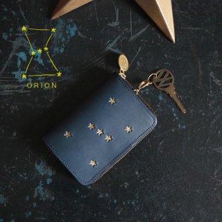 キーウォレット [ ミニ財布 + キーケース ](ORION ナイトブルー)