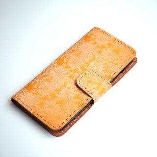 【SALE】手帳型アイフォンケース(ピースフル デイジー)iPhone XsMax用のみ。