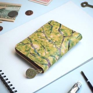 ラウンドファスナー コンパクト財布(コモレビ)